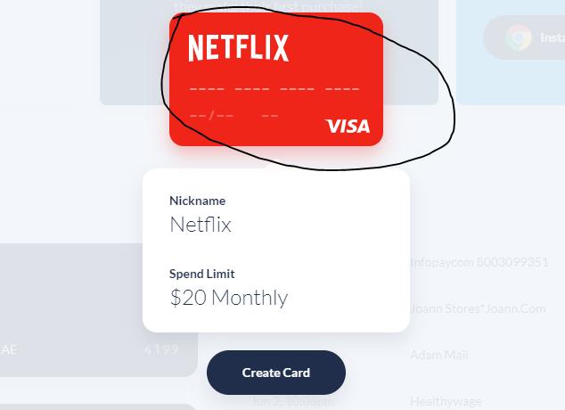 ارقام فيزا وهمية لتفعيل حسابات netflix