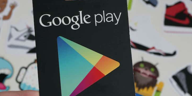 رموز بطاقات جوجل بلاي مجانا